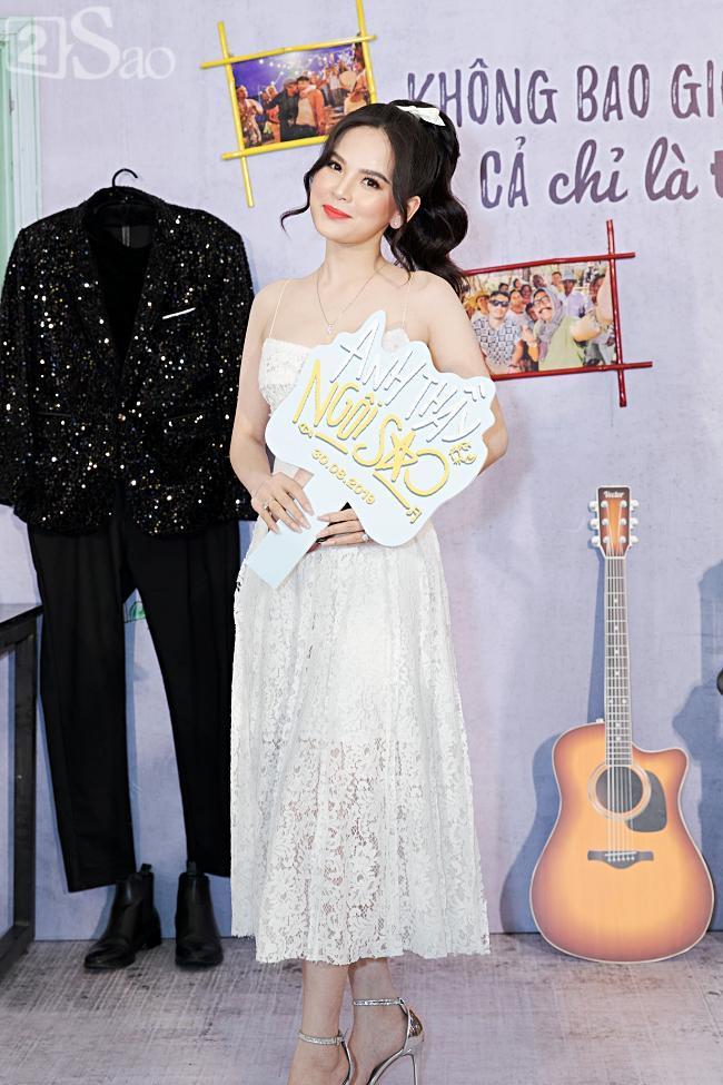 Không hẹn mà gặp, cả Miu Lê và Huyme đều diện tóc ngộ nghĩnh đến ra mắt phim của chính mình-9