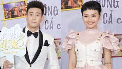 Không hẹn mà gặp, cả Miu Lê và Huyme đều diện tóc 'ngộ nghĩnh' đến ra mắt phim của chính mình