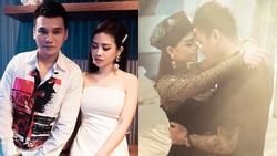 Vợ Khắc Việt có ghen khi chồng công khai ôm hôn 'gái lạ'?