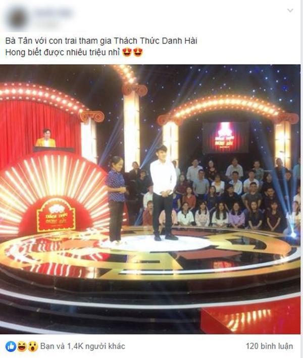 Mặc áo huyền thoại tham gia gameshow giành 100 triệu đồng, bà Tân Vlog khiến dân tình nháo nhào-1