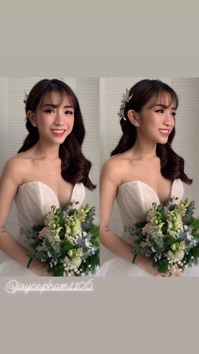 Không cá tính như khi chụp với siêu xe, con gái Minh Nhựa sexy hết nấc với váy cưới khoe vòng 1 cực khủng-2