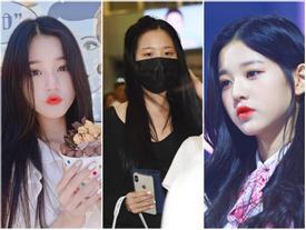 Được 'tâng bốc' hơn cả Irene, Jisoo, center của IZ*ONE lại khiến netizen 'hết hồn' vì mặt mộc đen nhẻm