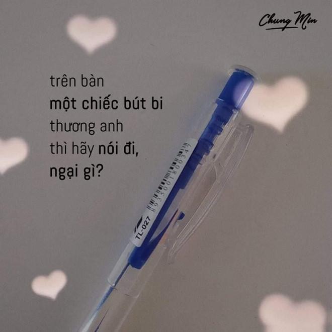 Mượn bút tỏ tình với những câu thả thính sương sương dịp tựu trường-1
