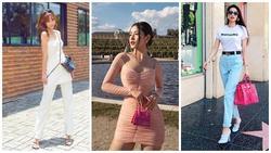 Phạm Hương xách túi 1,5 tỷ dạo phố - Chi Pu khoe sắc vóc lẫn gu thời trang chẳng thua kém idol xứ Hàn