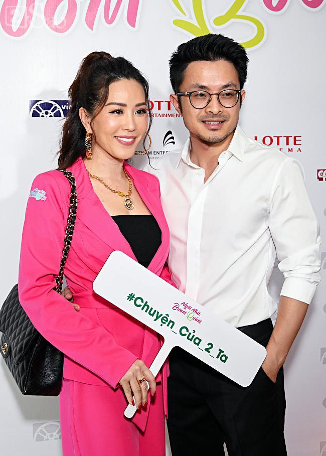 Tưởng Hồng Đào vắng mặt, ngờ đâu vẫn xuất hiện bên cạnh Quang Minh trong họp báo phim-14