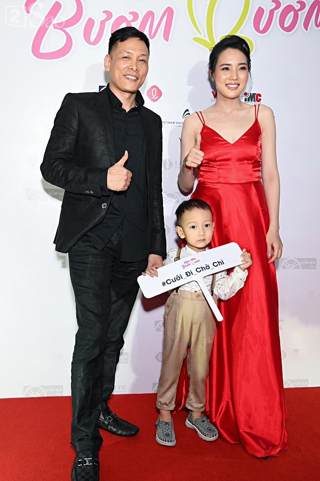 Tưởng Hồng Đào vắng mặt, ngờ đâu vẫn xuất hiện bên cạnh Quang Minh trong họp báo phim-9
