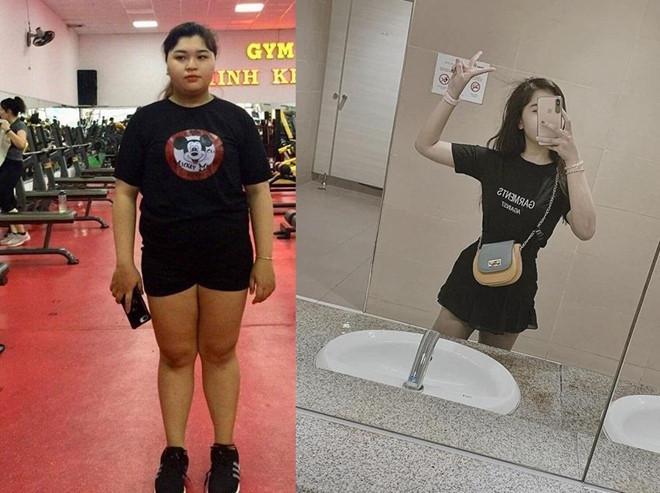 Bị bạn trai cắm sừng, nữ sinh 2K quyết giảm 36 kg trong 5 tháng-1