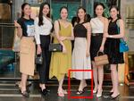 Đâu chỉ riêng Đỗ Mỹ Linh ăn gian chiều cao, nhiều sao Việt thuộc lòng chiêu kéo dài chân cực hiệu quả-11
