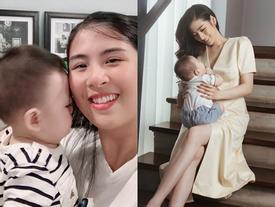 Trước khi lấy chồng, Hoa hậu Ngọc Hân 'đặt hàng' con trai Á hậu Tú Anh lăn giường tân hôn lấy may