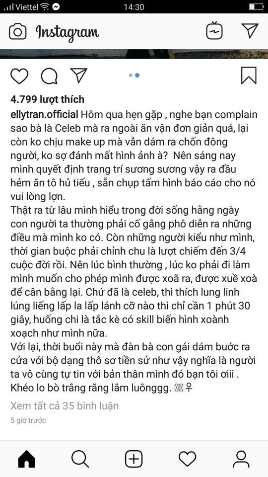 Elly Trần gây sóng trái chiều khi tự tin khẳng định bản thân có skill biến hình xoành xoạch-2