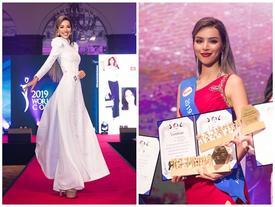 Thi sắc đẹp mãi không chán, Khả Trang tiếp tục đạt thành tích cao tại Hàn Quốc