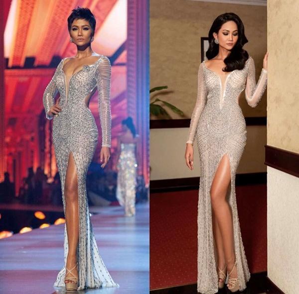 Hoa hậu HHen Niê trông như người khác mỗi lần thay đổi kiểu tóc-2