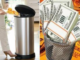 Đặt thùng rác kiểu này chẳng khác gì 'ném bỏ' tài lộc, cầu khấn mấy cũng vẫn nghèo