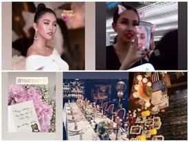 Hoa hậu Tiểu Vy chia sẻ ảnh 'dìm' nhan sắc trong ngày sinh nhật