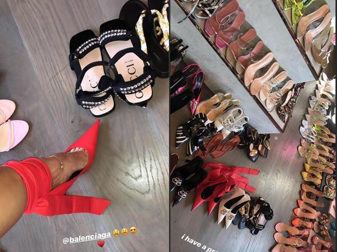 Kylie Jenner mải khoe tủ giày hiệu trước thảm họa cháy rừng Amazon-1
