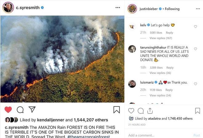 Kylie Jenner mải khoe tủ giày hiệu trước thảm họa cháy rừng Amazon-4