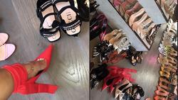Kylie Jenner mải khoe tủ giày hiệu trước thảm họa cháy rừng Amazon