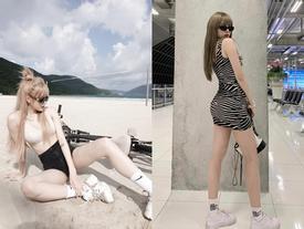 Bạn gái tin đồn của Sơn Tùng M-TP chuộng mặc đồ ngắn