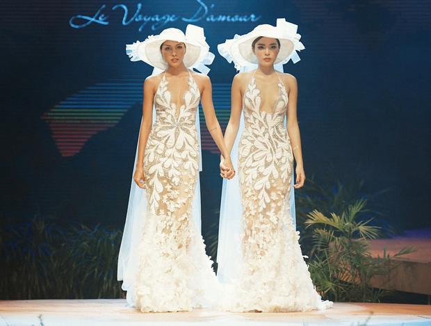 Kỳ Duyên và Minh Triệu nắm tay mặc váy cưới đôi, fan khẳng định: Tập trước để khi cưới đỡ ngại-2