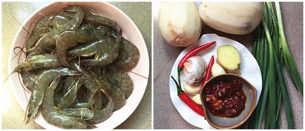 Chán rang tôm với thịt, hãy nấu tôm với nguyên liệu này đảm bảo đánh bay nồi cơm-1