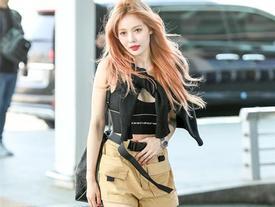 HyunA, Dương Mịch và dàn sao châu Á đang lăng xê mốt gì khi dạo phố?