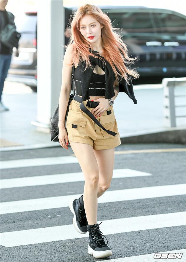 HyunA, Dương Mịch và dàn sao châu Á đang lăng xê mốt gì khi dạo phố?-4