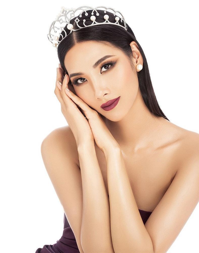 Hoàng Thùy nên để kiểu tóc nào và phải né kiểu tóc nào khi chinh chiến Miss Universe 2019?-2