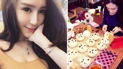 Cô gái bán được cả 10 ngàn chiếc bánh bao mỗi ngày chỉ vì ngoại hình siêu bốc lửa