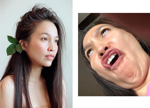 Lan Ngọc và bạn gái tin đồn của Sơn Tùng đăng ảnh dìm nhan sắc-5