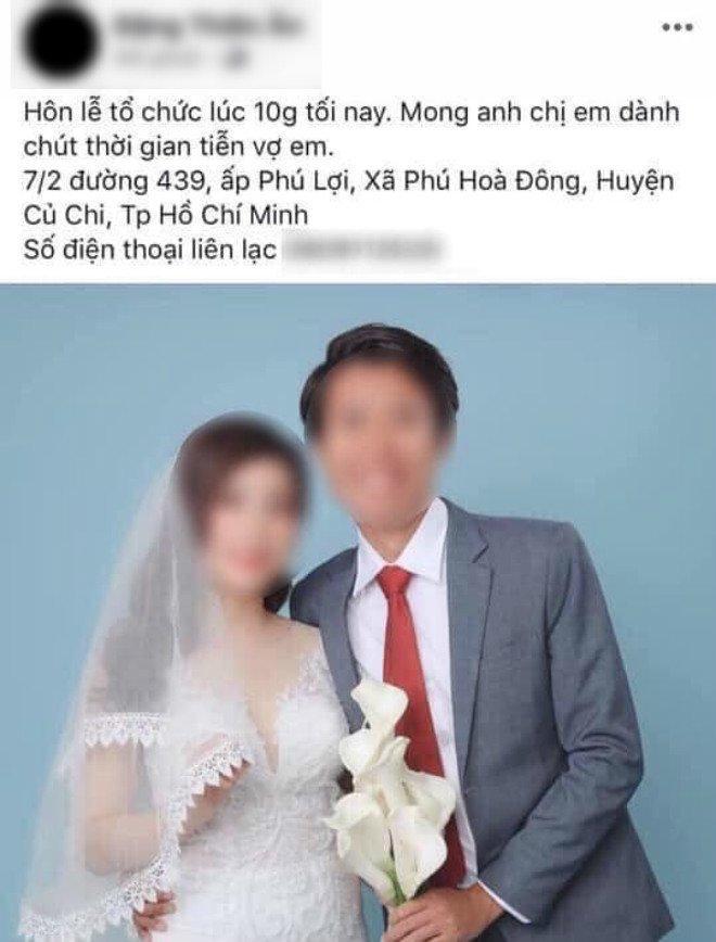 Vợ sắp cưới mất vì tai nạn, chàng trai bay từ Nhật về tổ chức lễ cưới ngay trong đêm-3