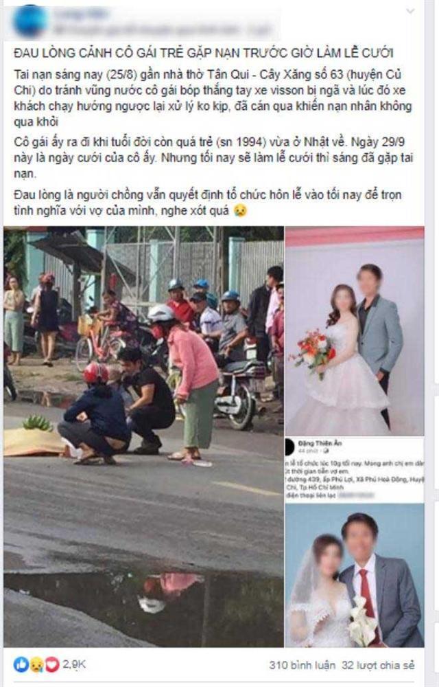 Vợ sắp cưới mất vì tai nạn, chàng trai bay từ Nhật về tổ chức lễ cưới ngay trong đêm-1