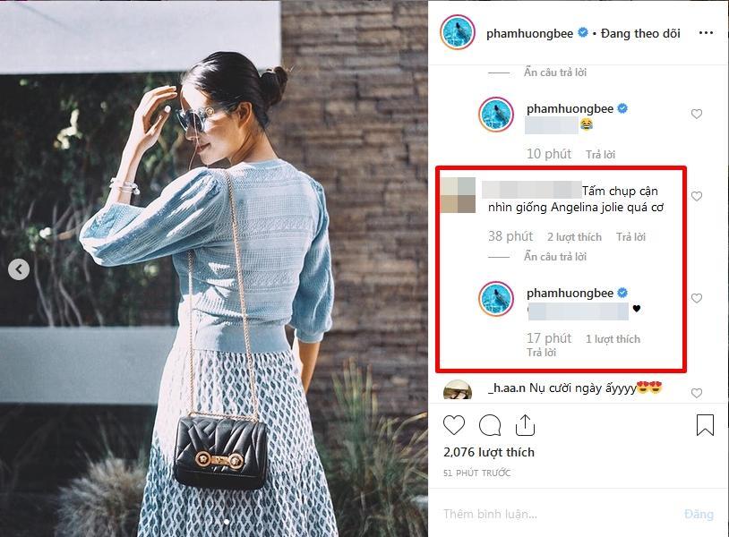 Hoa hậu Phạm Hương thích thú khi được khen giống đại mỹ nhân Angelina Jolie-4