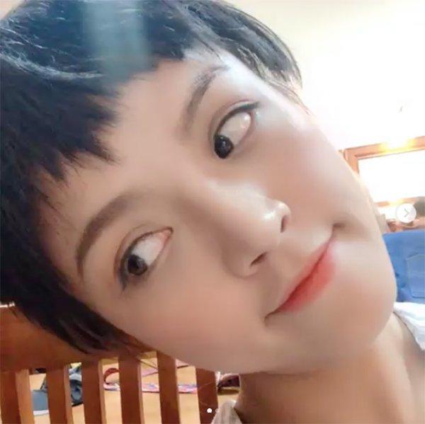 Xuất hiện với mái tóc ngắn te tua, Thu Quỳnh khiến fan bất ngờ-4