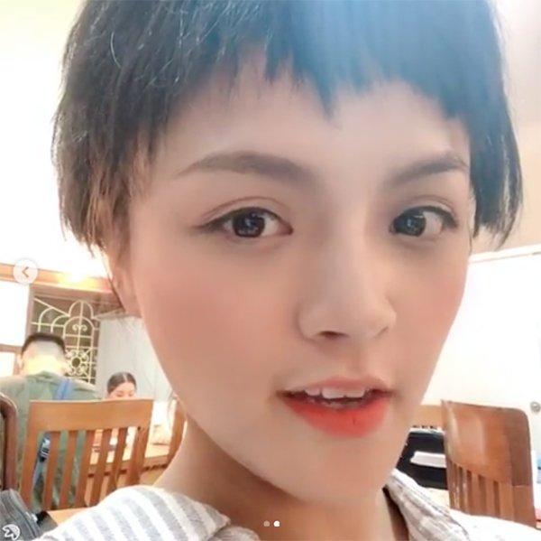 Xuất hiện với mái tóc ngắn te tua, Thu Quỳnh khiến fan bất ngờ-5