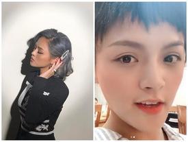 Xuất hiện với mái tóc ngắn te tua, Thu Quỳnh khiến fan bất ngờ