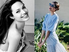 Hoa hậu Phạm Hương thích thú khi được khen giống đại mỹ nhân Angelina Jolie