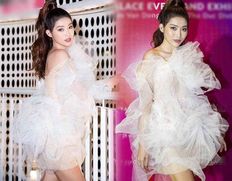 Diện chung váy bông tắm, tinh tế như Hương Giang đến Bùi Phương Nga, Quỳnh Châu đều bị chê xấu-1