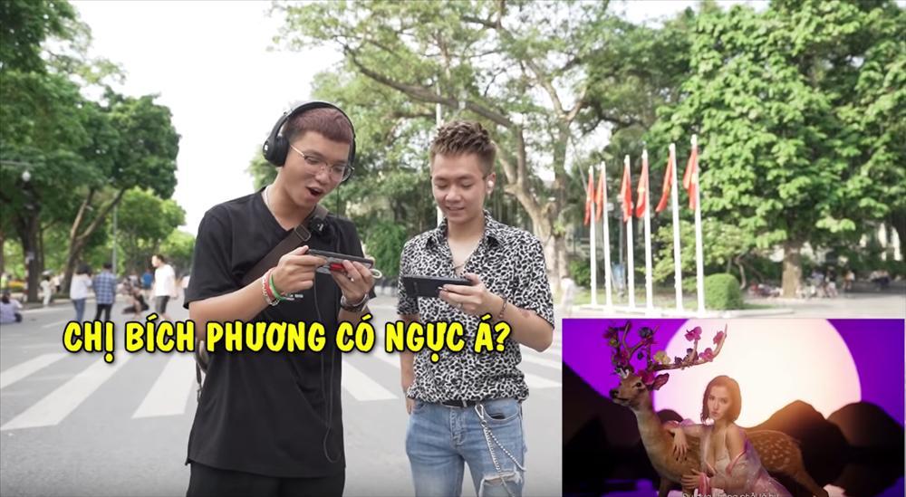 Học theo Sơn Tùng M-TP, Bích Phương cho fan xem trước MV và cái kết đắng: Chị cũng có ngực á?-3