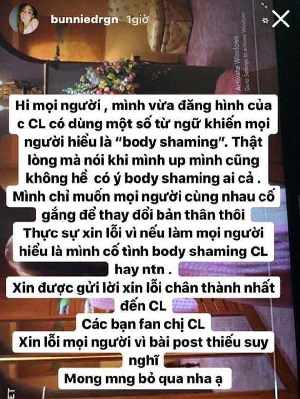 Hot girl bị dân mạng ném đá vì miệt thị ngoại hình ca sĩ CL của 2NE1-2