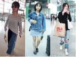 Dương Tử và các sao nữ bị chê ăn mặc 'thảm họa' ra sân bay