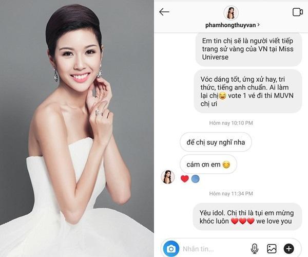 Đến lượt HHen Niê ra mặt ủng hộ Á hậu Thúy Vân thi Hoa hậu Hoàn vũ Việt Nam 2019-3