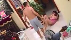 Clip: Võ sư Hà Nội tung cước đánh vợ vừa sinh ngã sấp mặt phải nhập viện, còn dọa đốt nhà - giết cả dòng họ