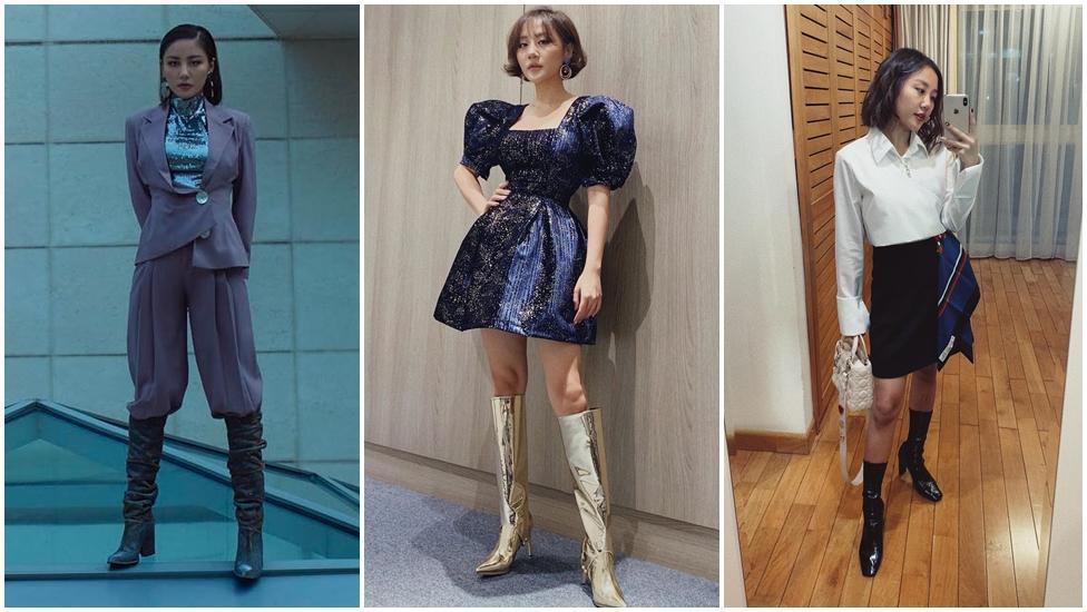 Choáng ngợp với tủ giày hàng trăm đôi cực kỳ xịn xò của Văn Mai Hương-5