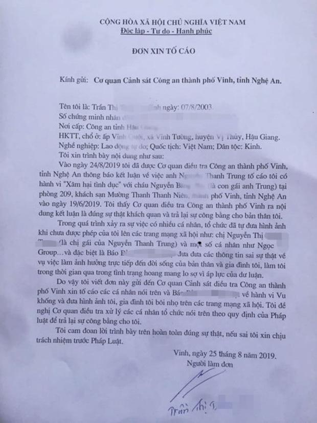 VZN News: Vụ bố dựng chuyện con 6 tuổi bị hiếp dâm: Nạn nhân bị vu khống làm đơn tố cáo-2