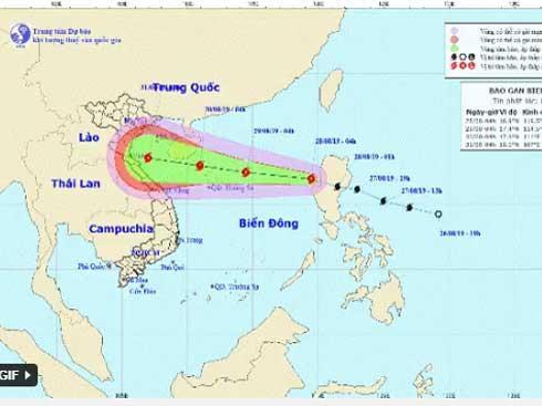 VZN News: Bão Podul tràn vào Biển Đông gây mưa lớn suốt kỳ nghỉ lễ Quốc khánh-1