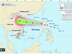 Bão Podul tràn vào Biển Đông gây mưa lớn suốt kỳ nghỉ lễ Quốc khánh
