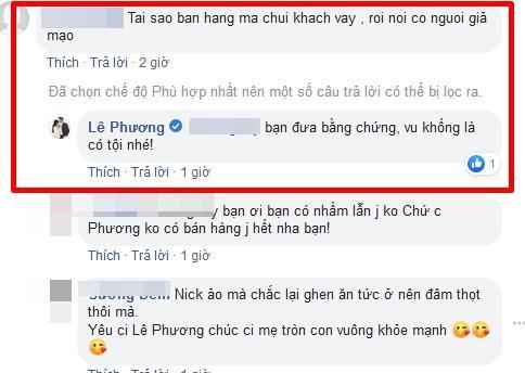 VZN News: Đang gồng mình đau đẻ, Lê Phương vẫn phải đáp trả kẻ bóc phốt bán hàng mà chửi khách-5