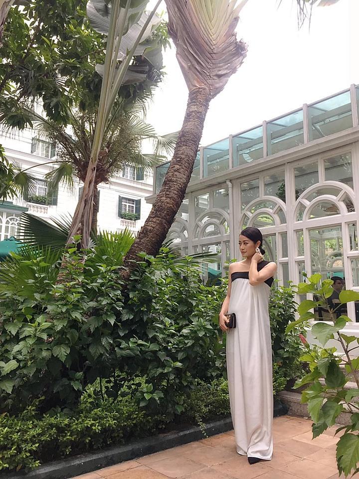 VZN News: MC Phí Linh: Ông xã bật cười sung sướng khi biết tôi mang thai-3