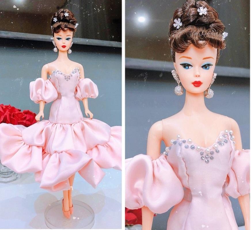 Đào Bá Lộc may từ nội y đến váy hậu cung cho búp bê đẹp ngây người-11