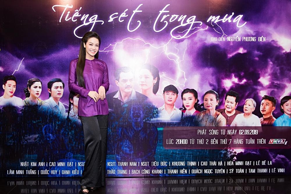 Tiếng Sét Trong Mưa thắng lớn, Nhật Kim Anh khẳng định: Phim nào có tôi thì phim đó phải hay!-1